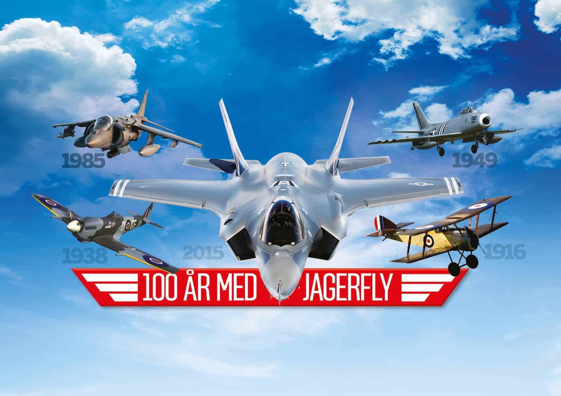 100 år med jagerfly