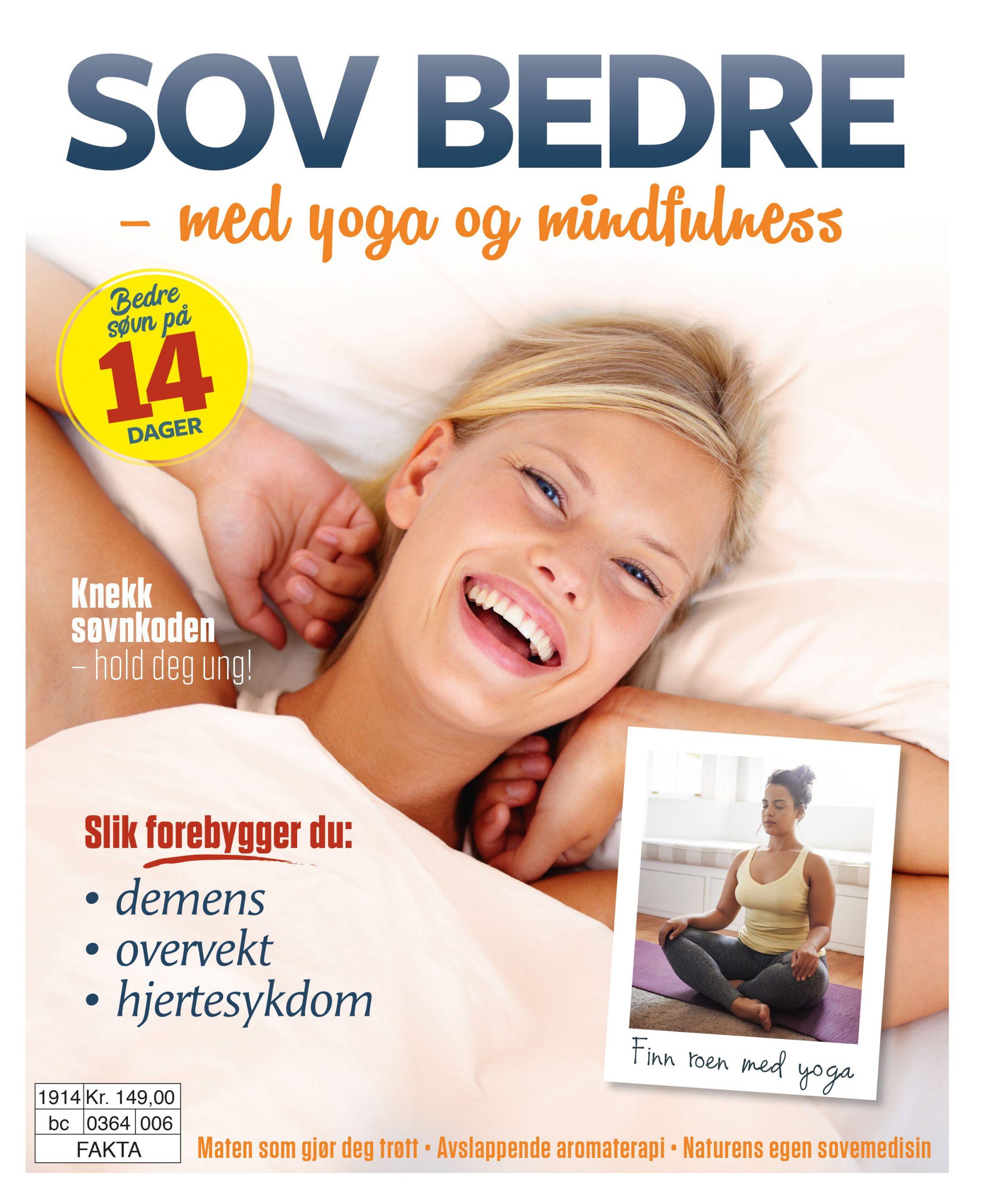 Sov bedre med yoga og mindfulness