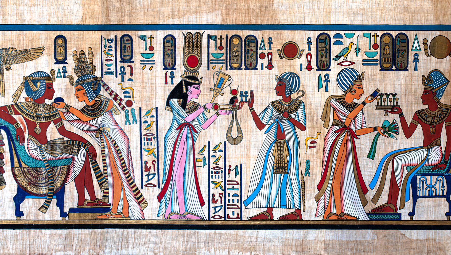 Gammel papyrus