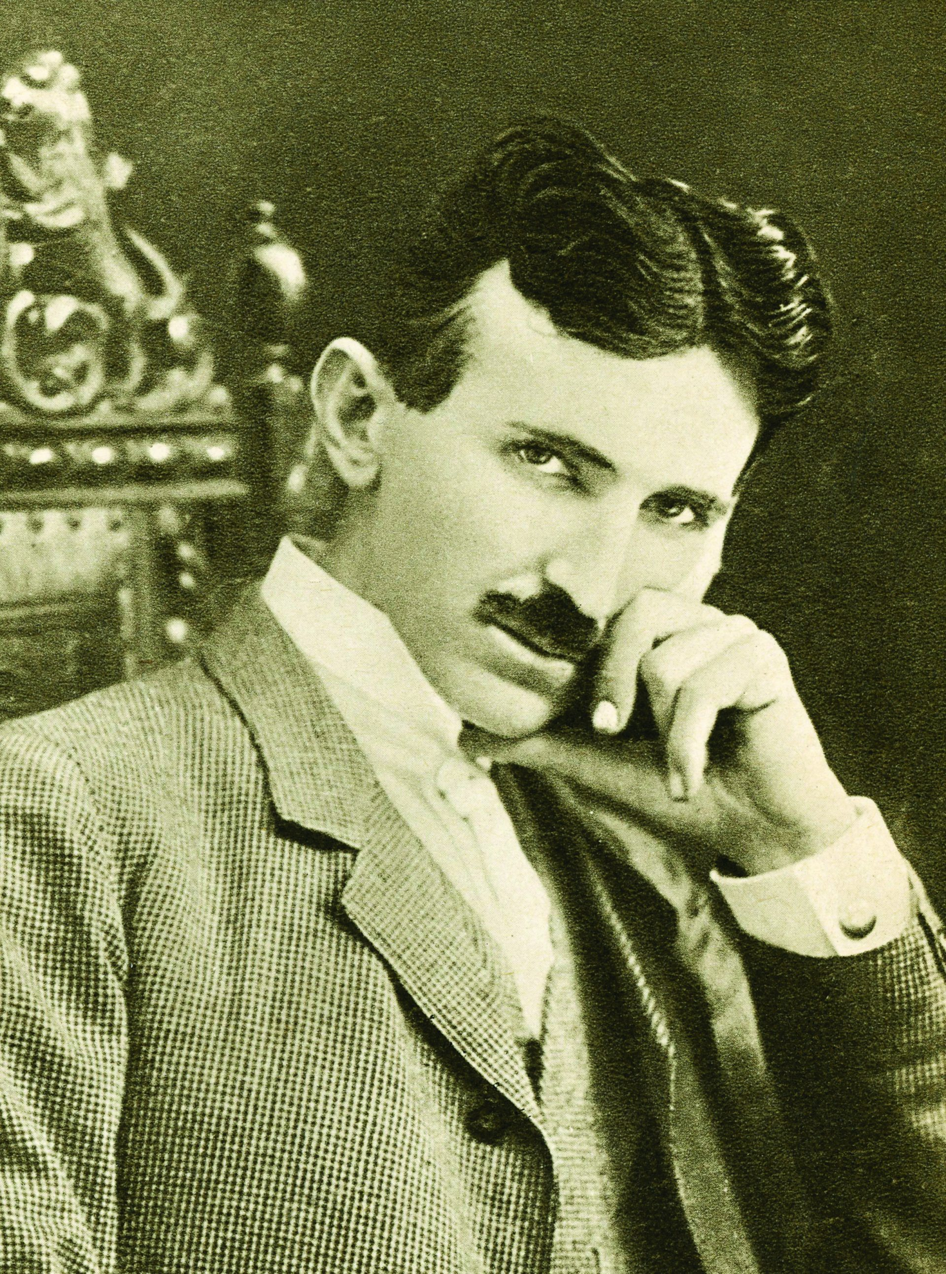 Portrett av Nikola Tesla