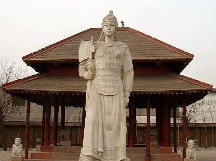 Statue av Lady fu hao