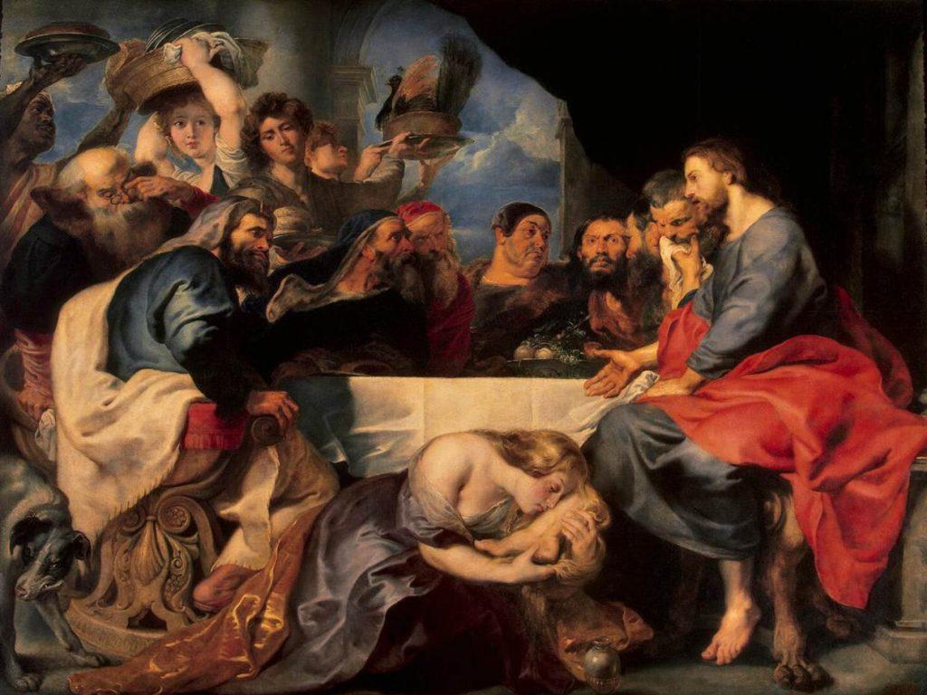 Maleri, Fest i huset til fariseeren Simon,