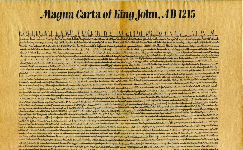 Kopi av Magna Carta