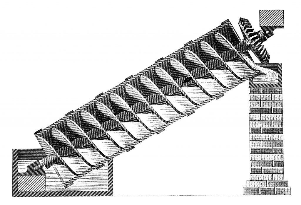 Vann transportør fra 1800-tallet