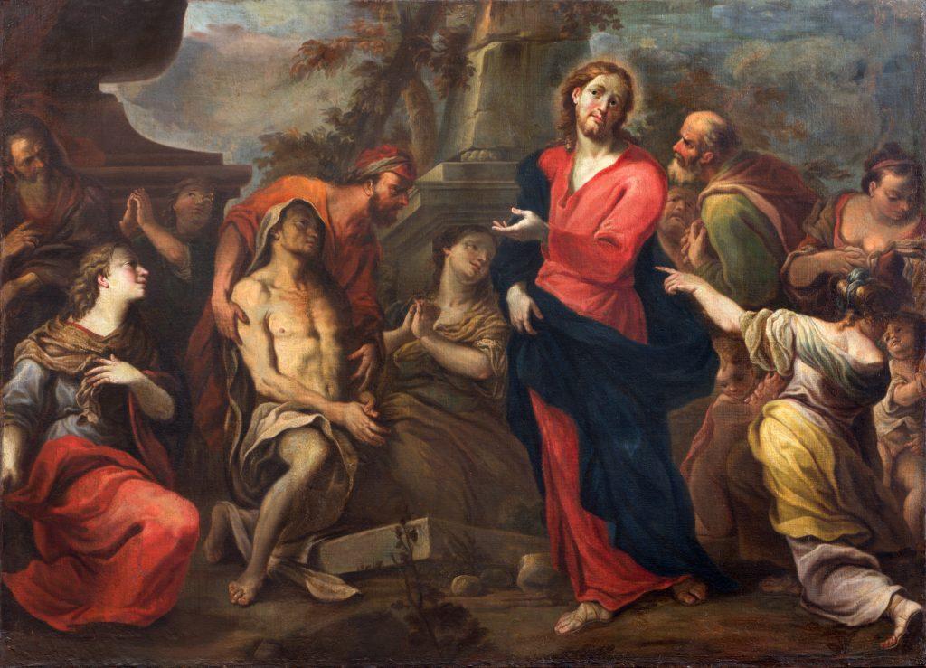 Oppstandelsen av Lazarus i San Nicolo kirke