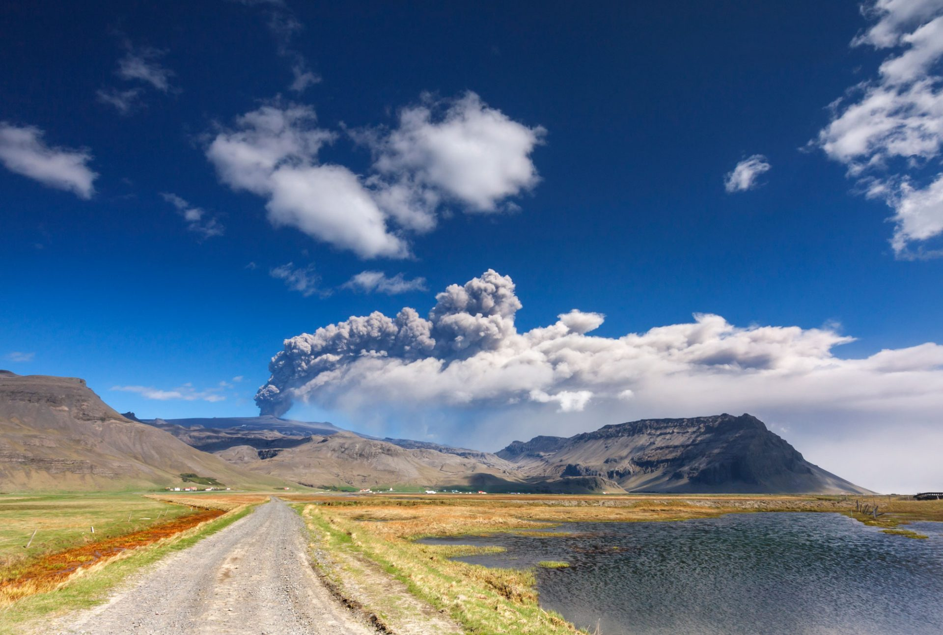 Eyafjallajökull vulkan