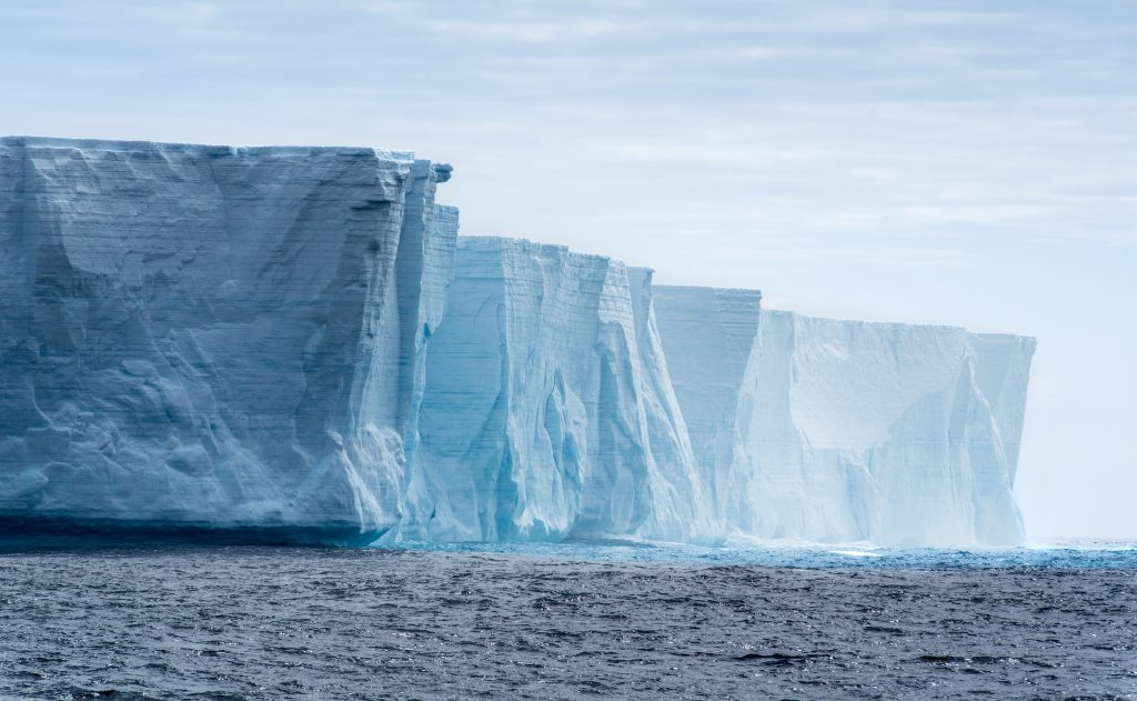 Isfjell, Antarktis