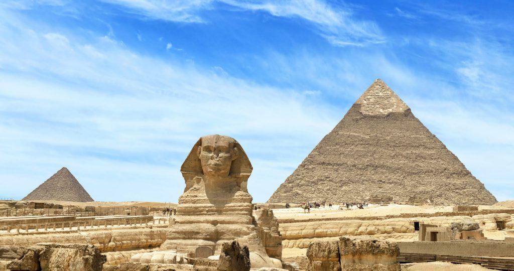 Pyramide, Cairo, Egypt