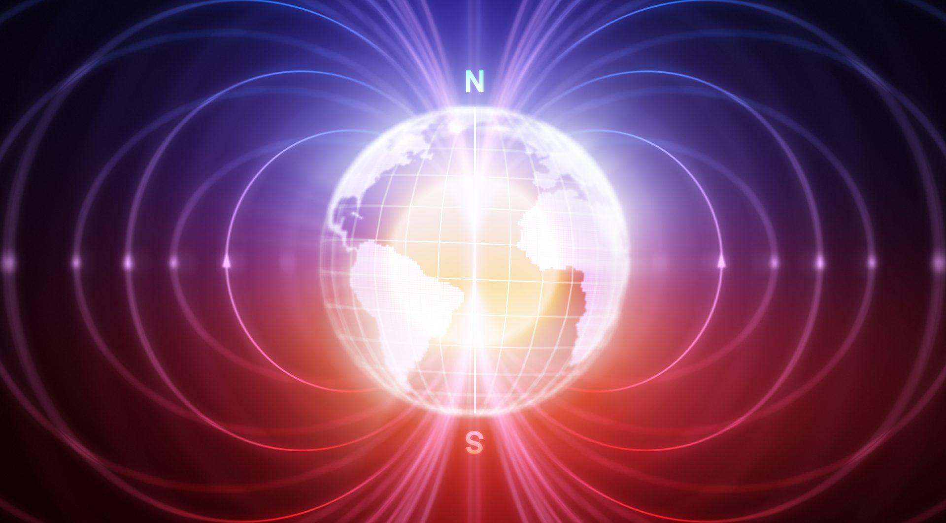 Kloden med Magnetiske felt
