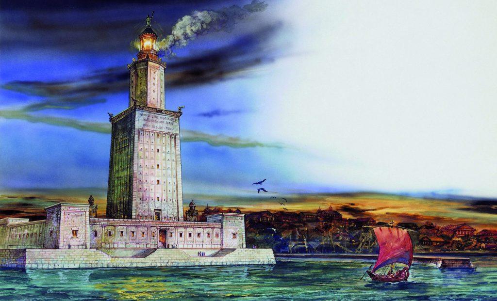 Fyrtårn, Alexandria, Egypt