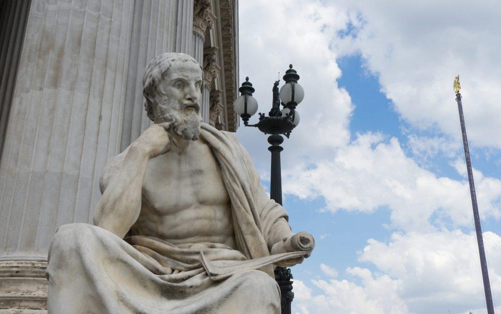 Statue av Herodot