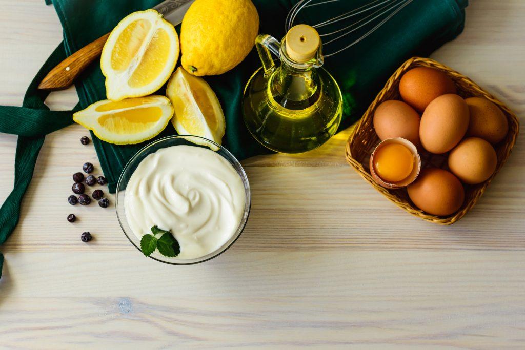 Ingredienser til majones