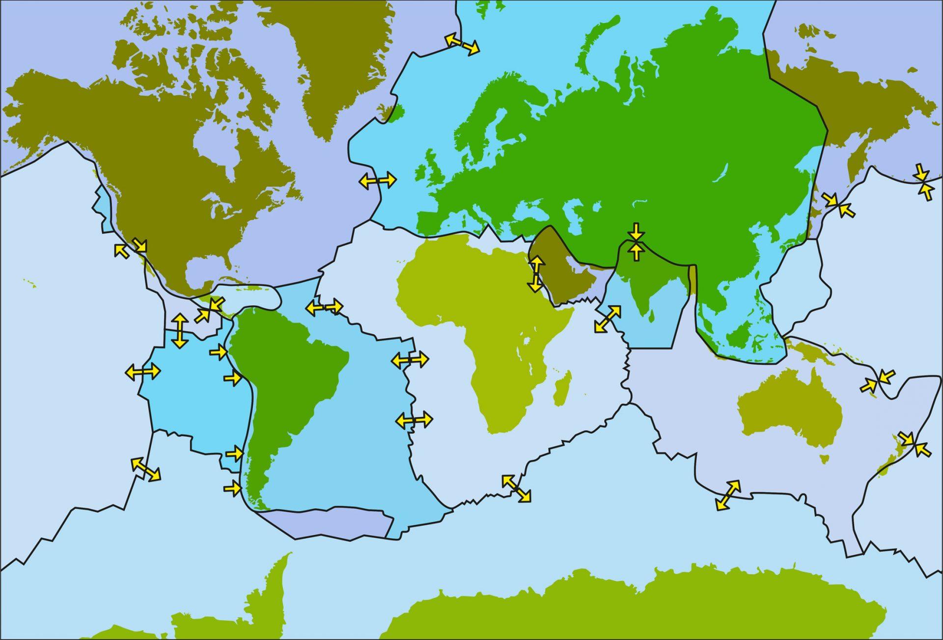 Tektoniske plater