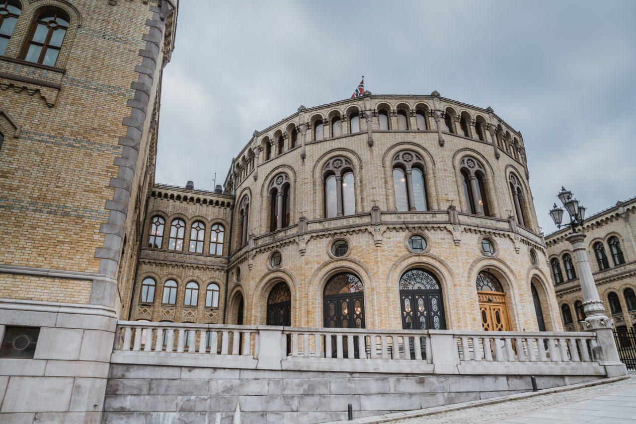 Bilde av Stortinget i Oslo, Norge