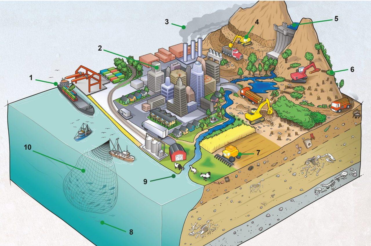 Hva vil fremtidens geologer bruke som kjennetegn på antropocen