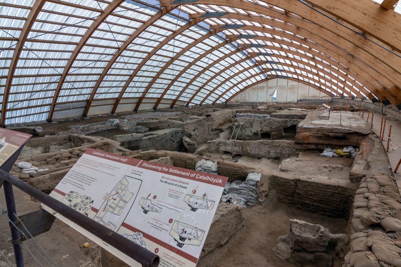 Çatalhöyük er på UNESCOs verdensarvliste, og er i dag et område med høy arkeologisk aktivitet