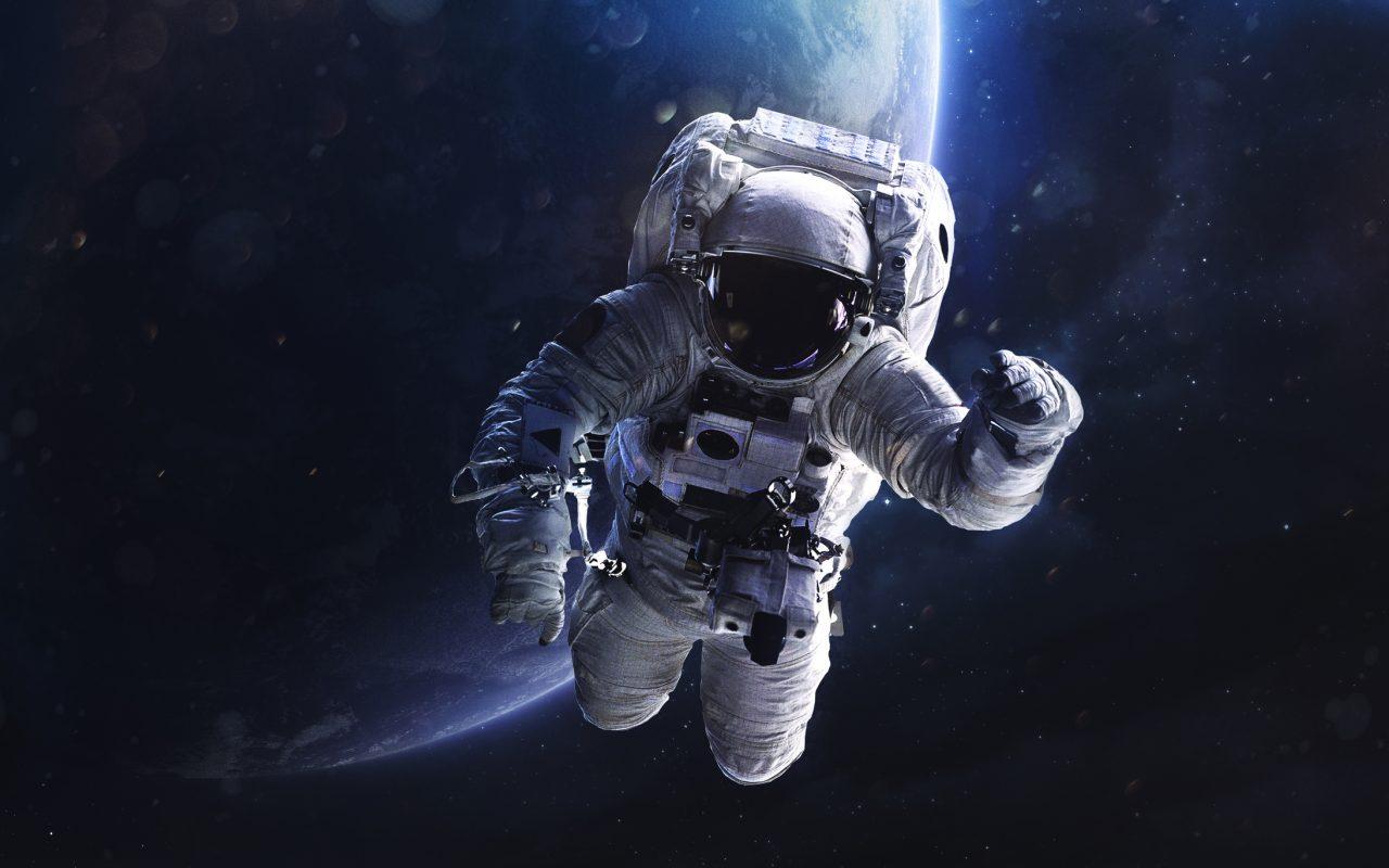 Astronaut i verdensrommet