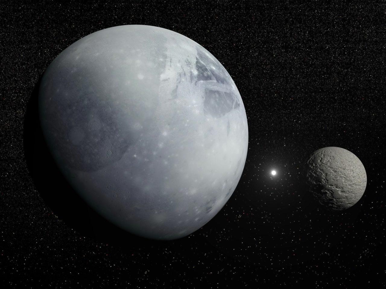 Pluto, Charon og Nordstjernen