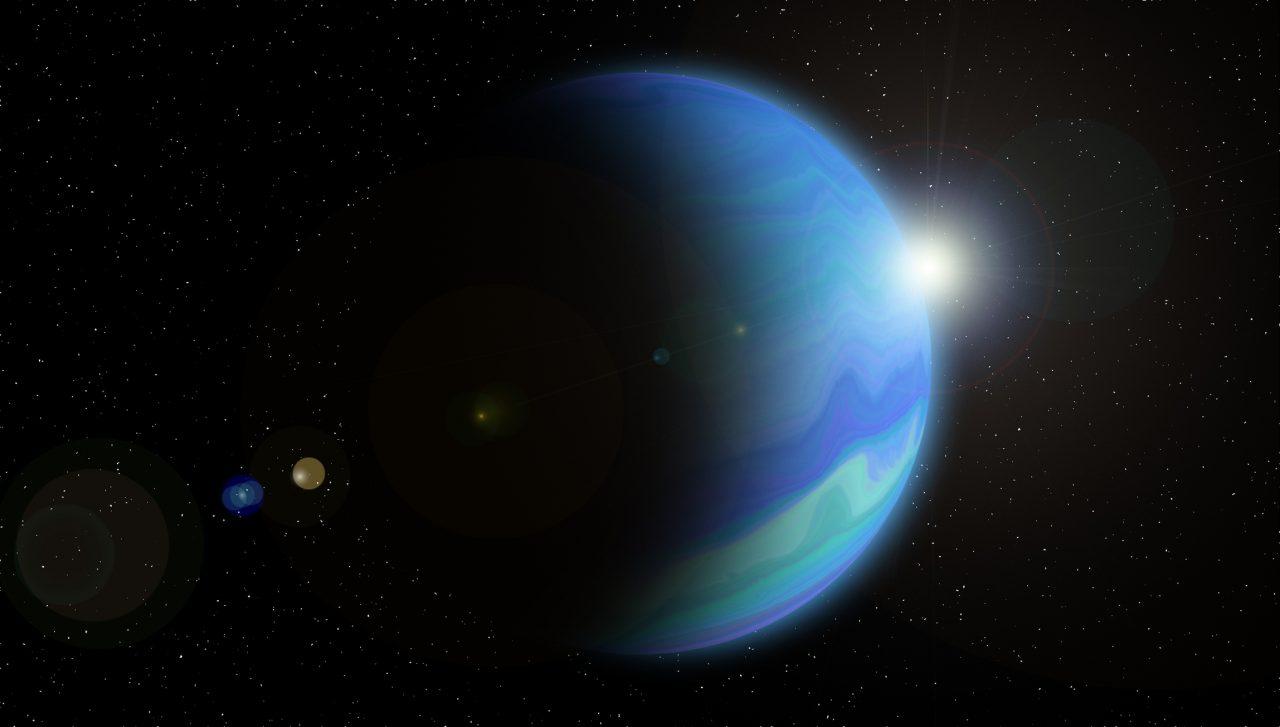 Planeten Neptun
