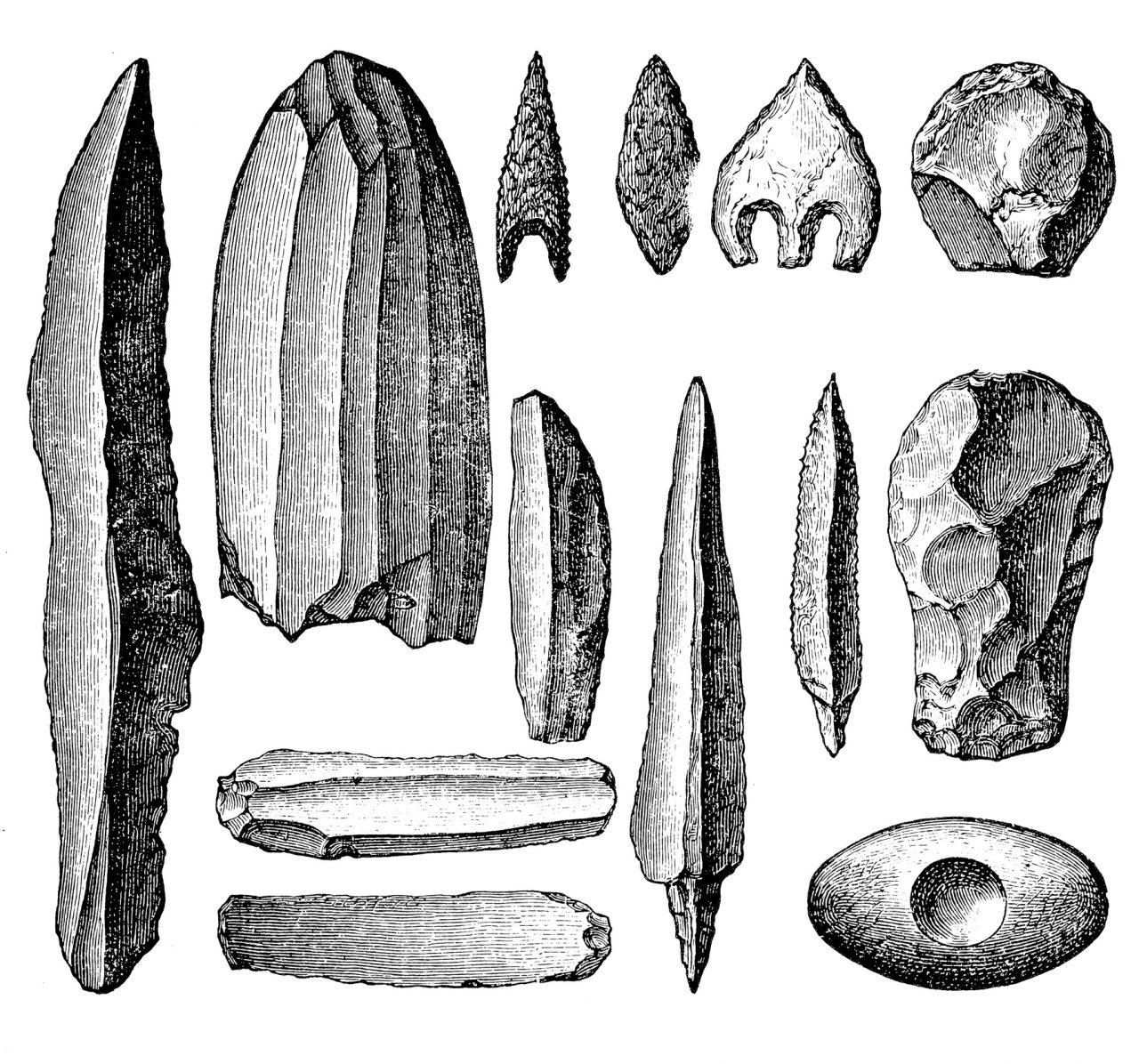 Neolittiske verktøy og våpen