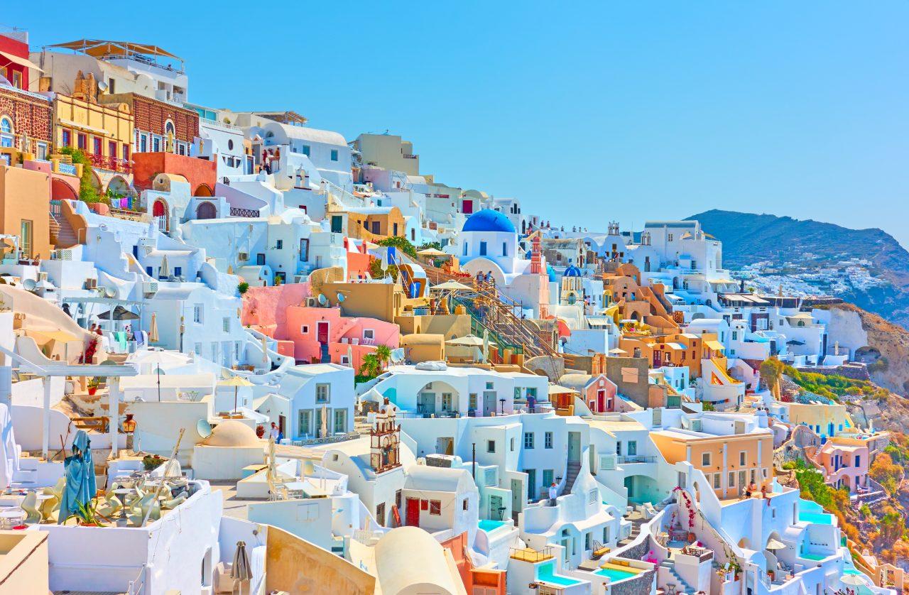 Santorini i Hellas