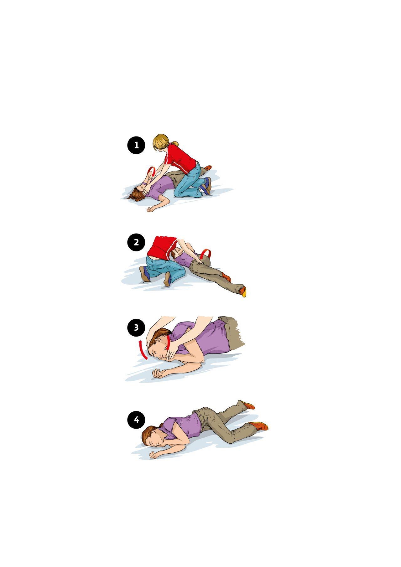 Førstehjelp illustrert