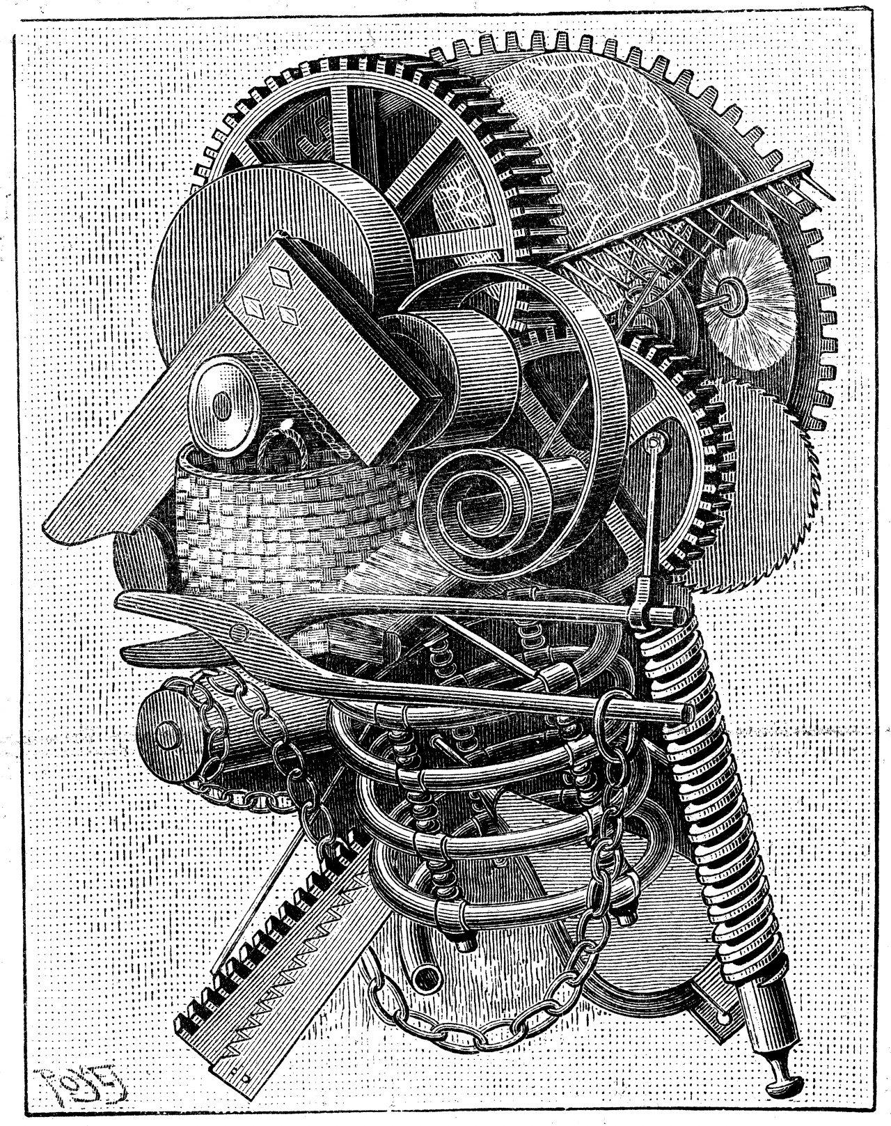 Mekanisk hode