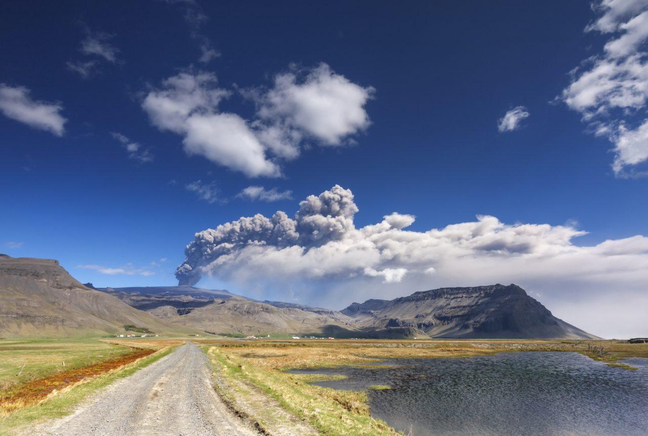 Eyjafjallajokull vulkanen 2010