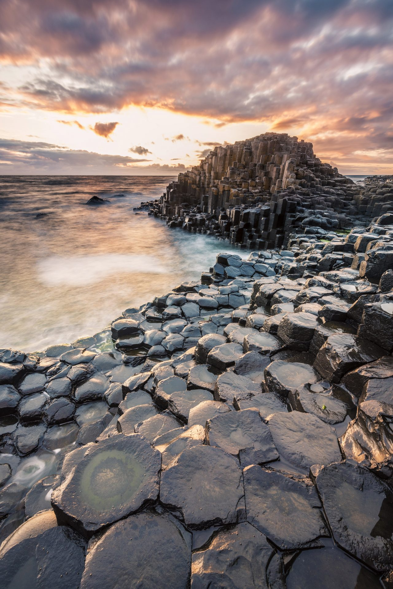 Giant's Causeway i Nord-Irland