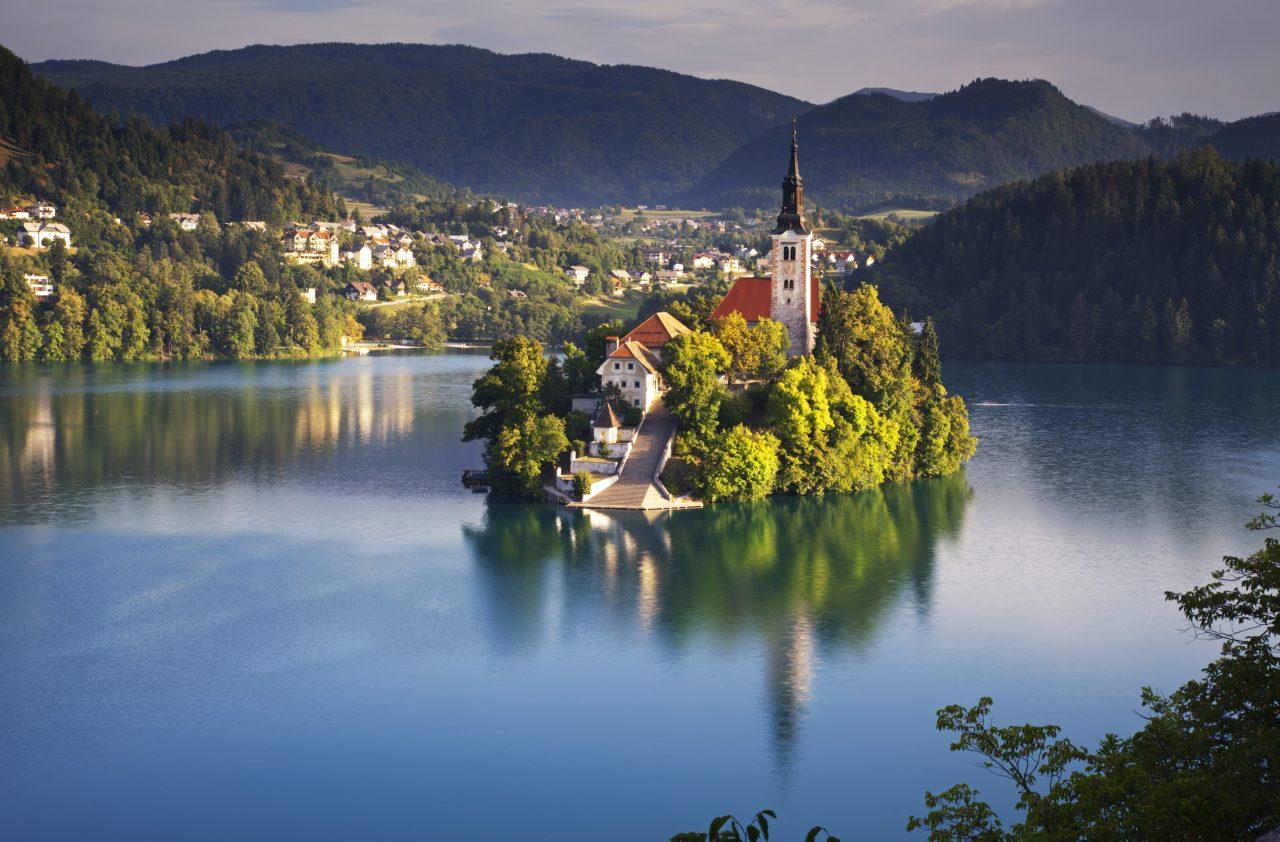 Bledsjøen i Slovenia