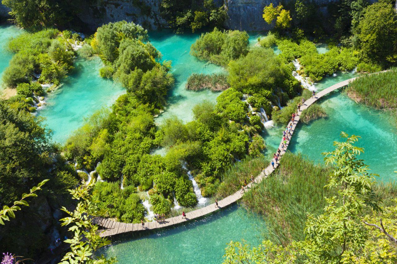 Plitvice i Kroatia