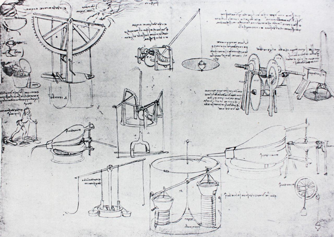 Leonardo da Vincis vannsystem