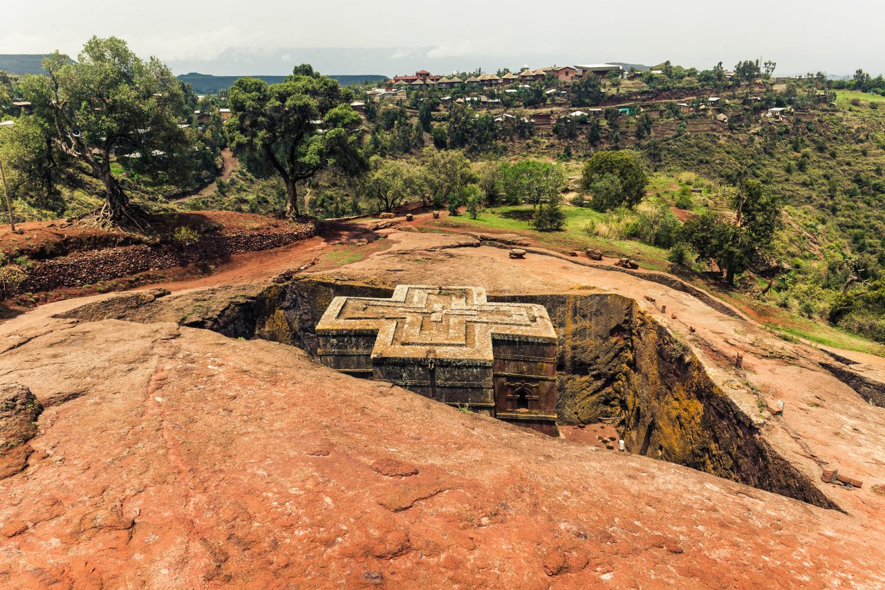 Lalibela i Etiopia
