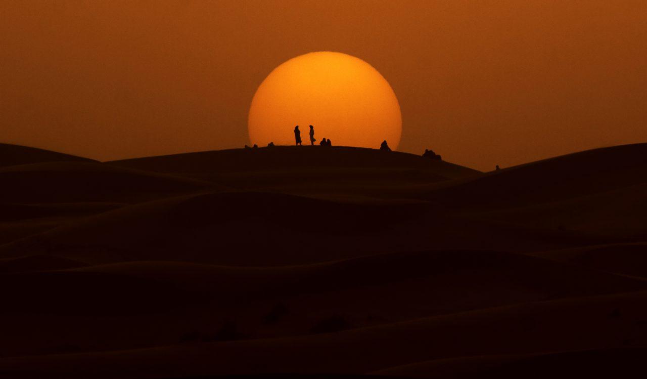 Ørken i Marokko