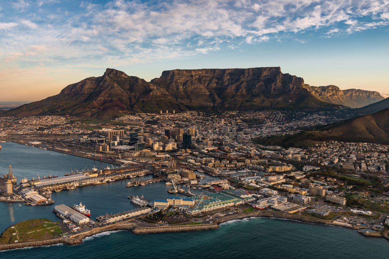 Table Mountain i Sør-Afrika