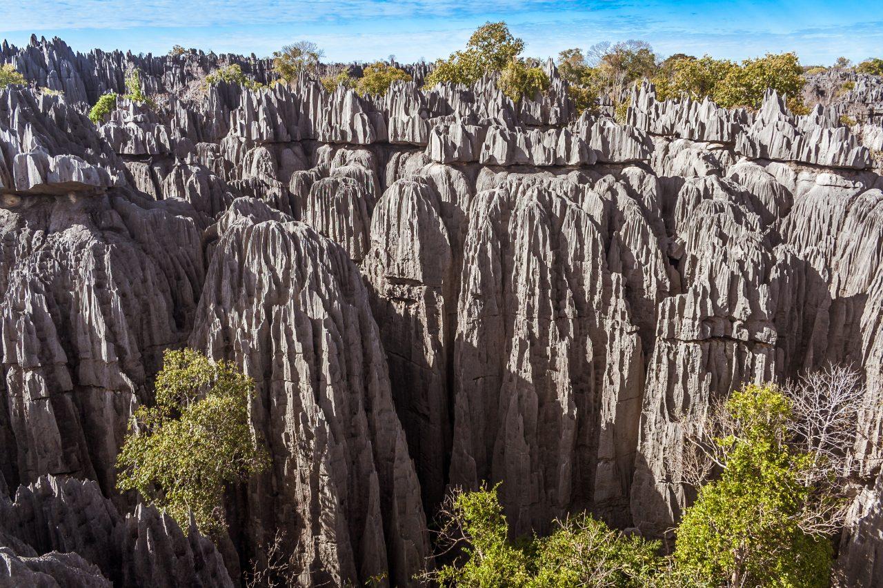 Tsingy de Bemaraha i Madagaskar
