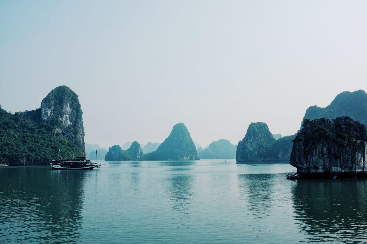 Ha Long-bukta i Vietnam