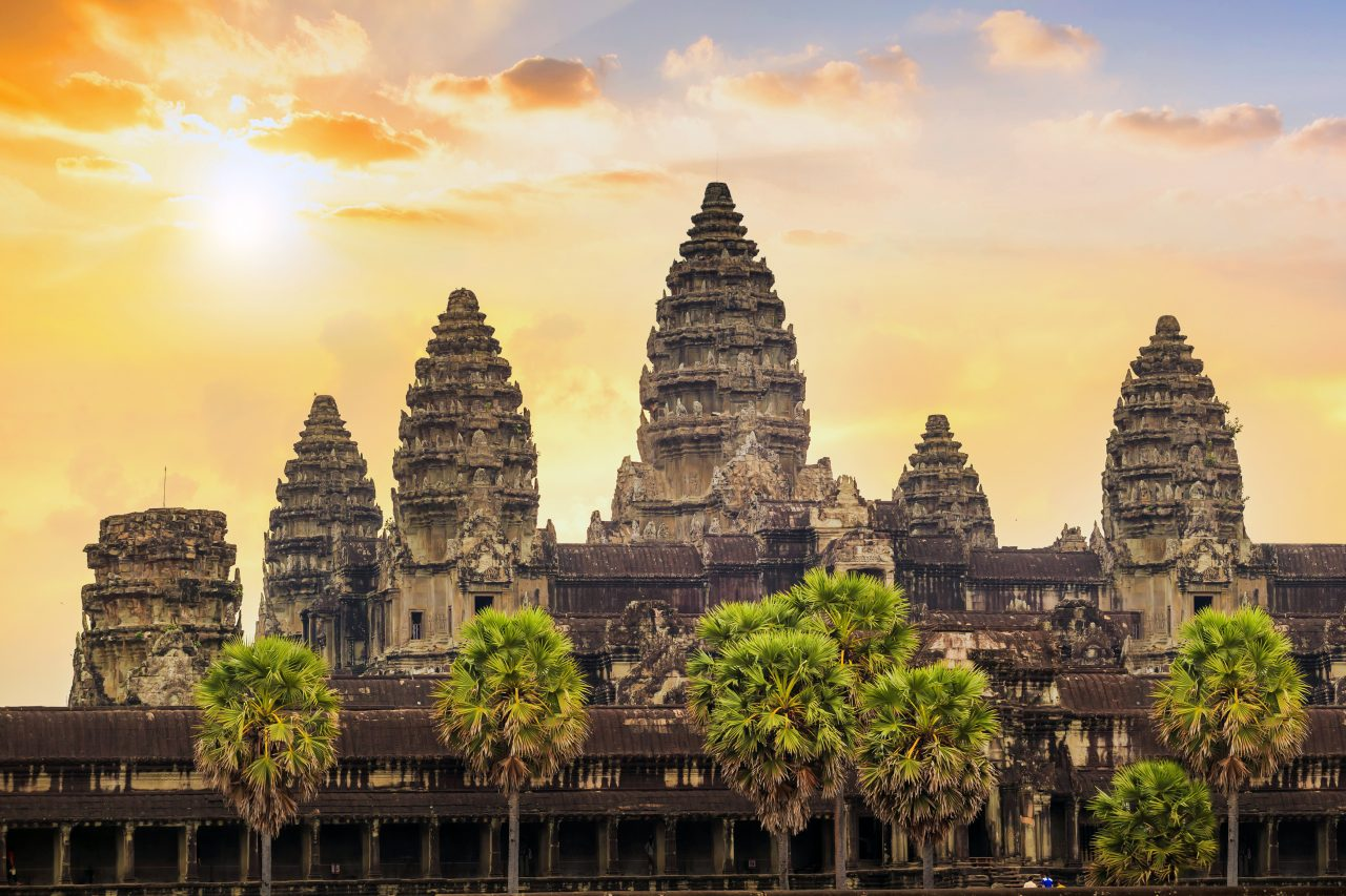 Angkor Wat i Kambodsja