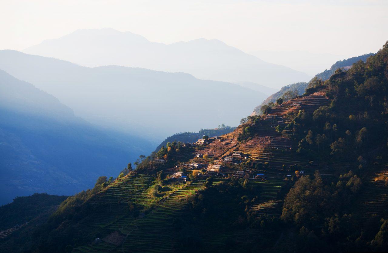 Ghandruk i Nepal