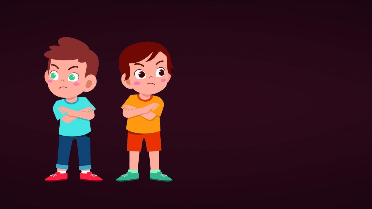 Dårlig stemning mellom barn