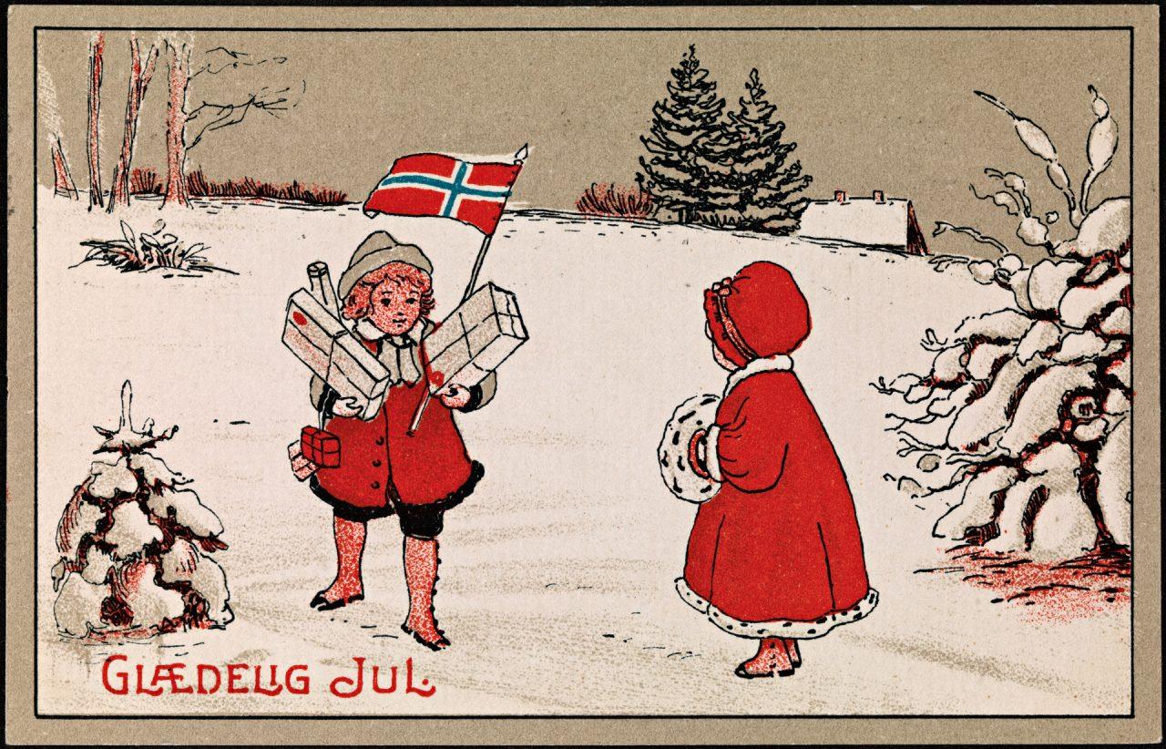 Julekort under krigen
