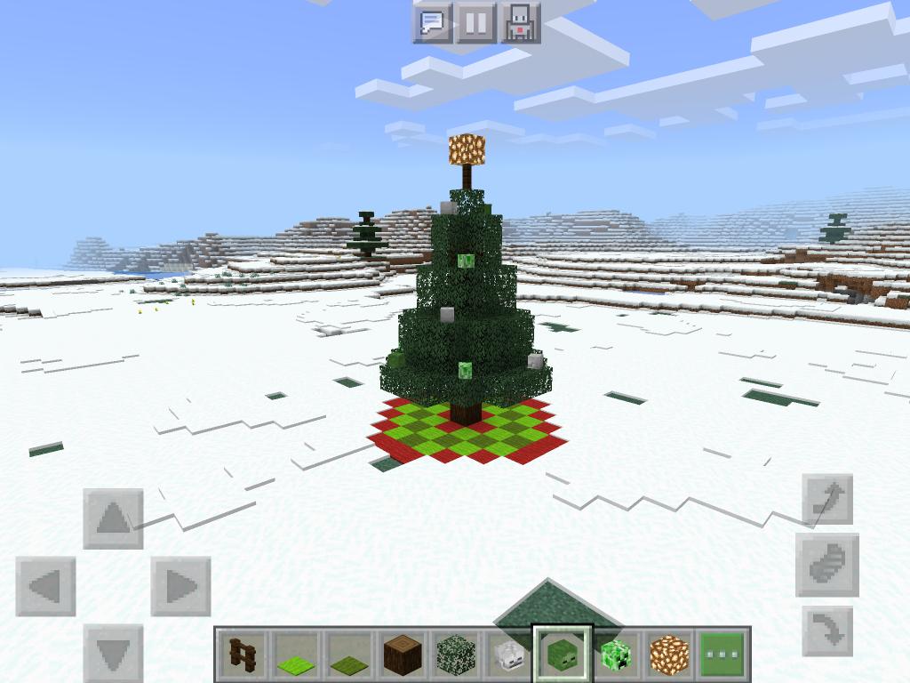Ferdig juletre med julekuler