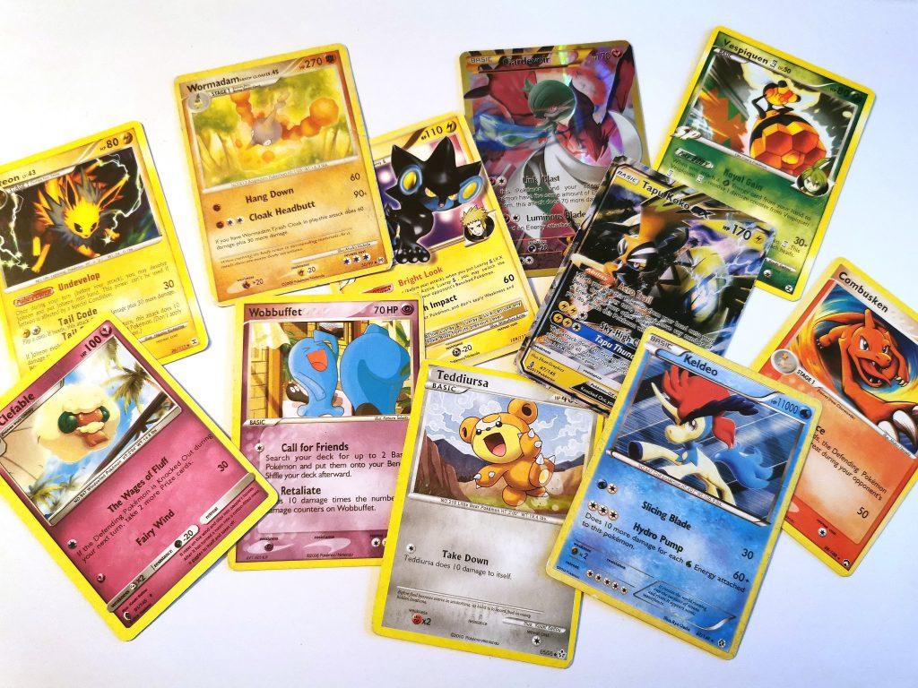 Falske pokémon-kort
