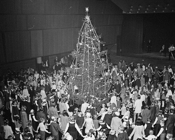 Juletrefest i 1969