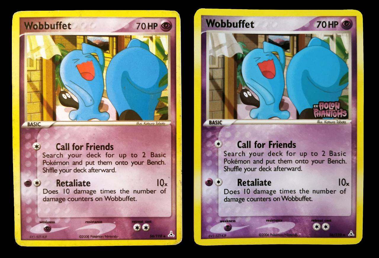 Wobbuffet pokékon-kort