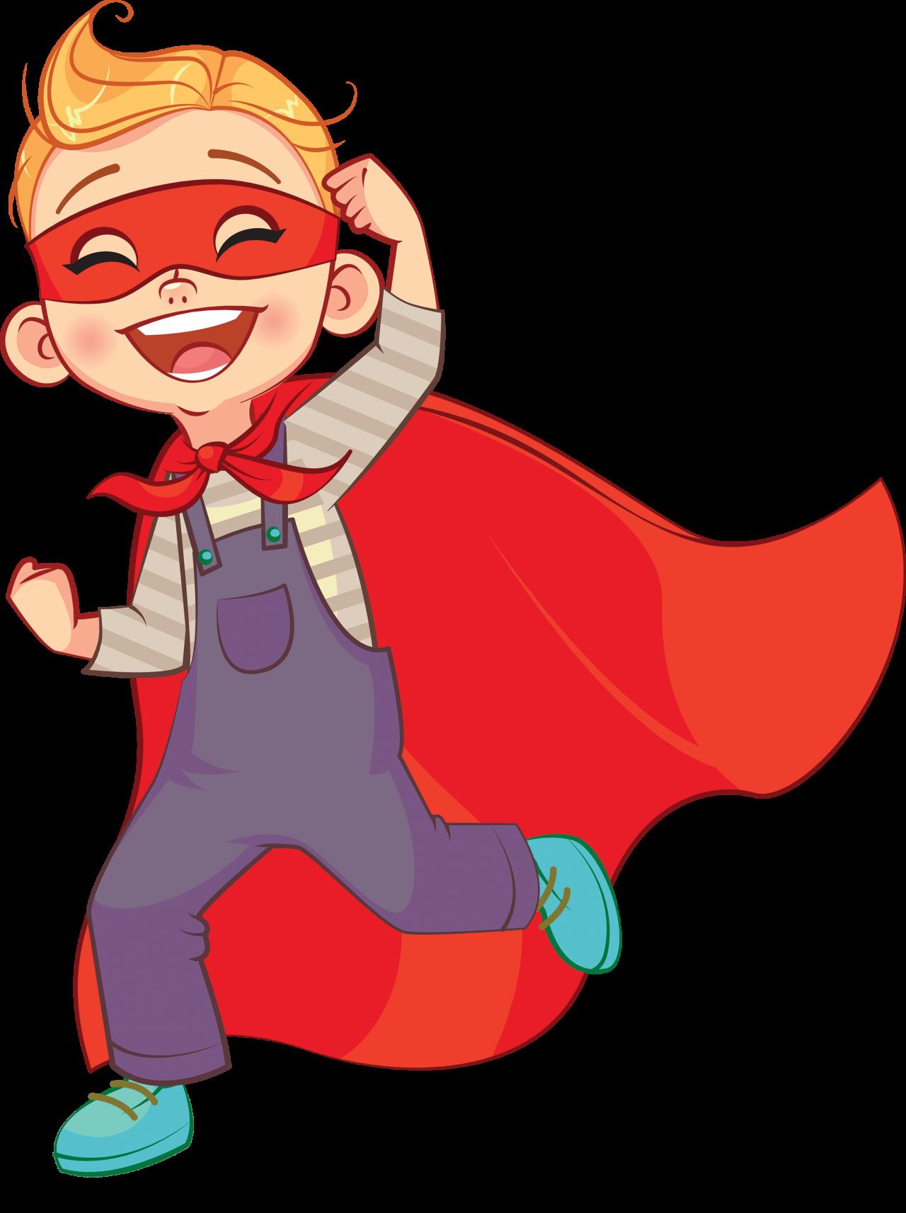 Glad superhelt