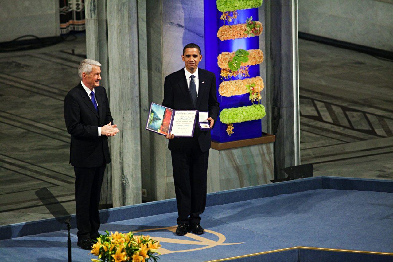 Obama mottar Nobels fredspris