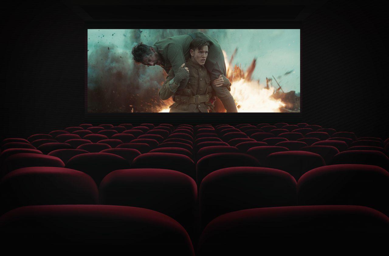 Krigsfilm på kino