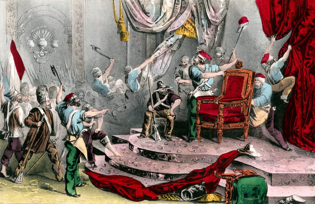 Opptøyer under franske revolusjonen