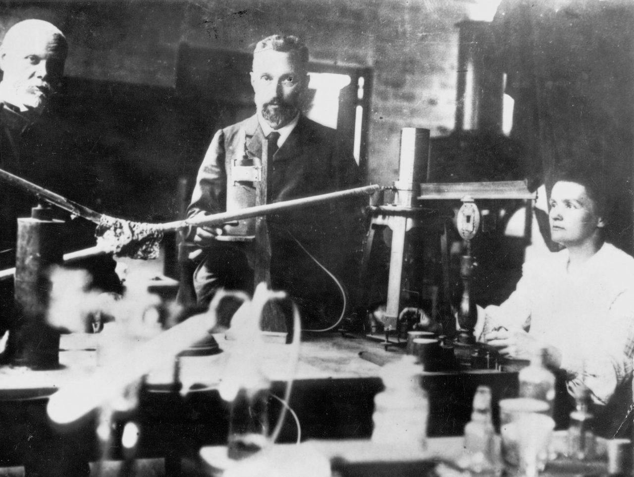 Marie og Pierre Curie